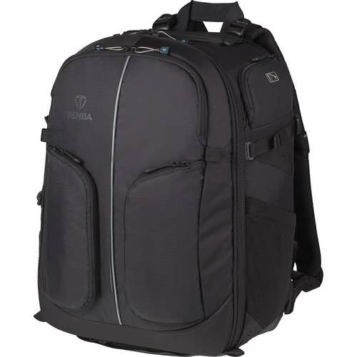 New Tenba Shootout Backpack (32L) - holds one or two DSLR cameras and 5-8 lenses!