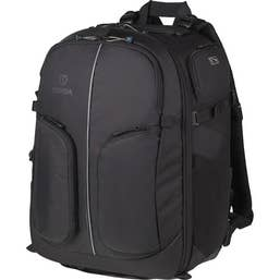 Tenba Shootout Backpack (32L) - holds one or two DSLR cameras and 5-8 lenses!