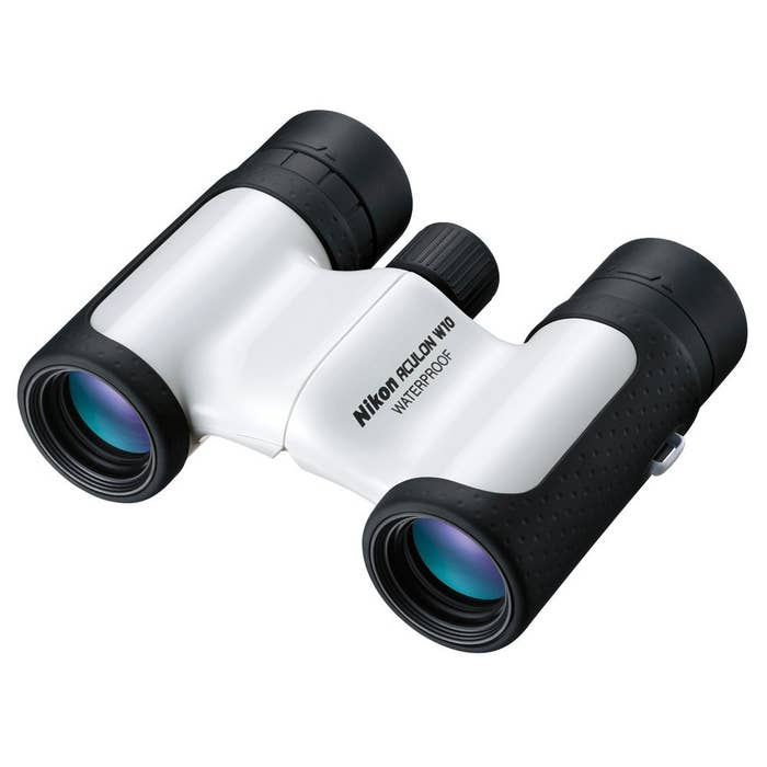 Nikon 16014 ACULON W10 10x21 Binocular (White)