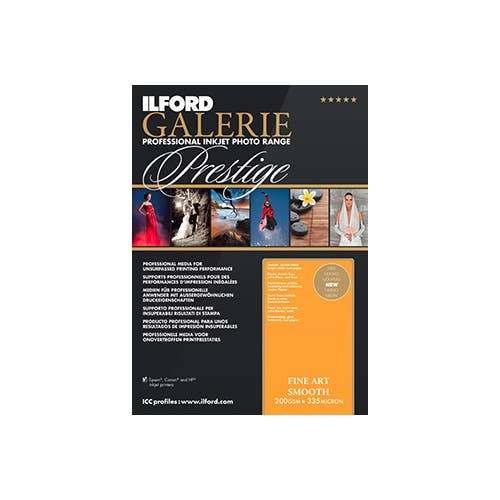Ilford Galerie Fine Art Smooth (200gsm) A3+ 25 Sheets