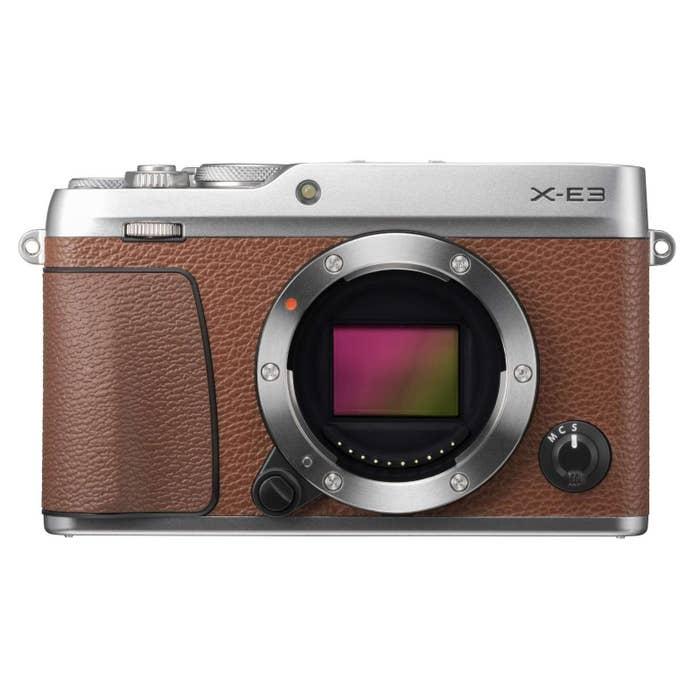 Fujifilm X-E3 Mirrorless Digital Camera (Body Only, Brown)