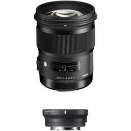 Sigma 50mm f/1.4 DG HSM Art Lens for Sigma SA Mount Lenses