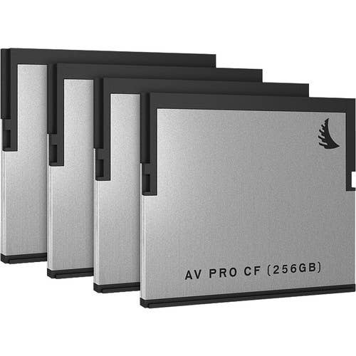 Angelbird CFast 2.0 256GB  -  4 Pack
