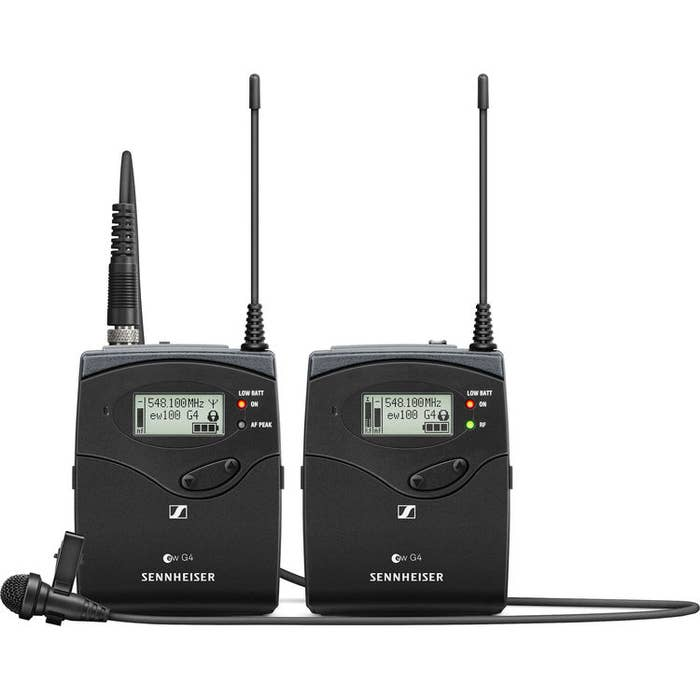 Sennheiser EW 112P G4-B Wireless Lapel System