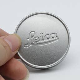 Leica X E Lens cap E39- Silver