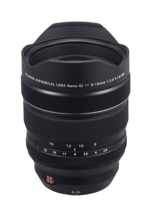 Fujinon Lens XF 8-16mm F2.8 R LM WR