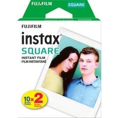 Fujifilm Instax SQUARE Instant Film Twin Pack (20 Exposures)