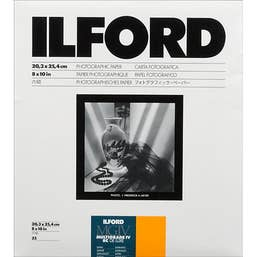 Ilford Multigrade IV RC Deluxe 25M Satin 20.3x25.4cm 25 Sheets MGaRC25M