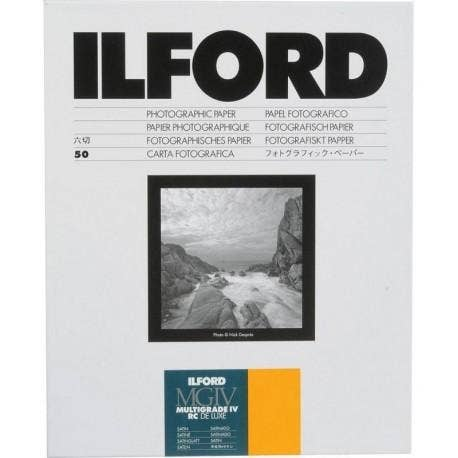 Ilford Multigrade IV RC Deluxe 25MSatin 30.5x40.6cm 50 Sheets MG4RC25M