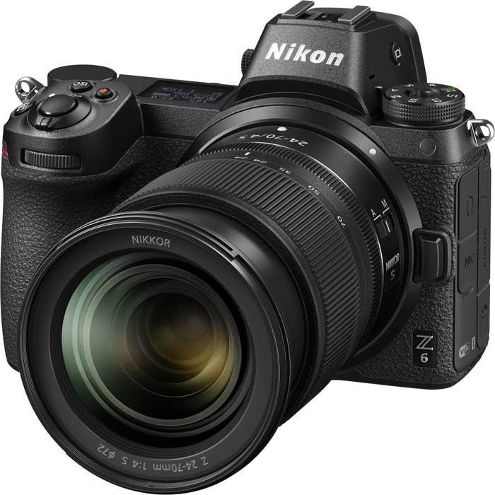 Nikon Z6 Mirrorless Digital Camera with 24-70mm f4 S Lens