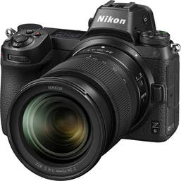 Nikon Z6 Mirrorless Digital Camera with 24-70mm f4 S Lens