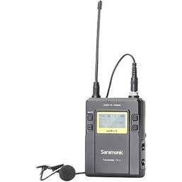 Saramonic TX9 96-Channel Digital UHF Wireless Bodypack Transmitter with Lavalier Mic