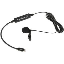 Saramonic LavMicro DI Broadcast Lavalier Microphone with Lightning Connector