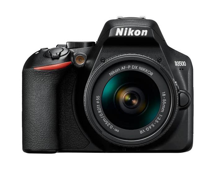 Nikon D3500 Digital SLR Body with Nikon AF-P DX 18-55 VR Lens