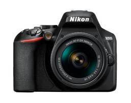Nikon D3500 Digital SLR Body with Nikon AF-P DX 18-55 VR + AF-P 70-300 VR Lenses