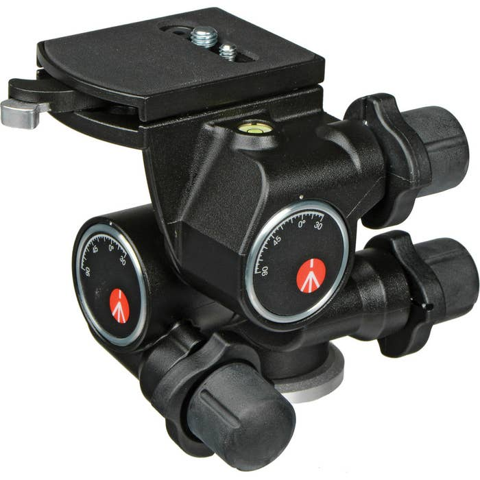 Manfrotto MF 410 Junior Geared Head - Supports up to 5kg.