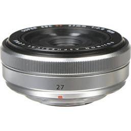Fujifilm XF 27mm f/2.8 Pancake Lens - Silver