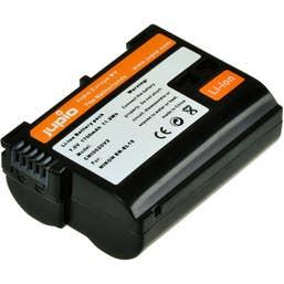 Jupio EN-EL15 Lithium-Ion Rechargeable Battery for Nikon Cameras - 1700 mAh