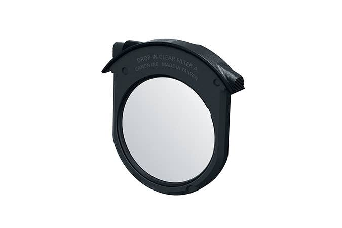 Canon Drop-In Clear Filter  for Canon EOS-R series