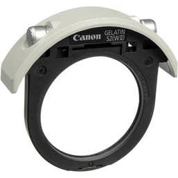 Canon Drop In Gelatin Filter Holder
