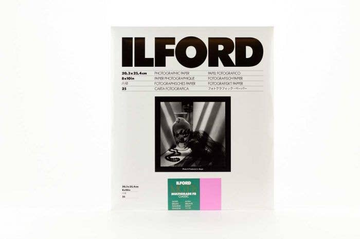 Ilford Multigrade FB Classic Glossy 20x25cm - 25 Sheet Pack