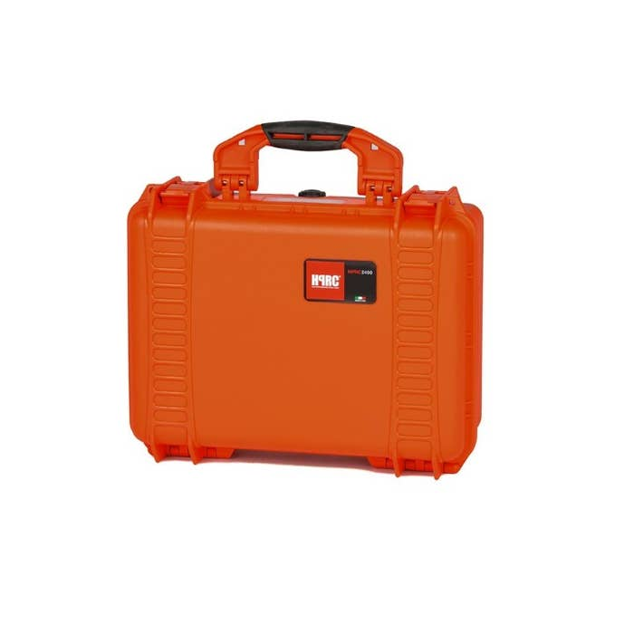 HPRC 2400 - Hard Case with Cordura Bag & Dividers (Orange)