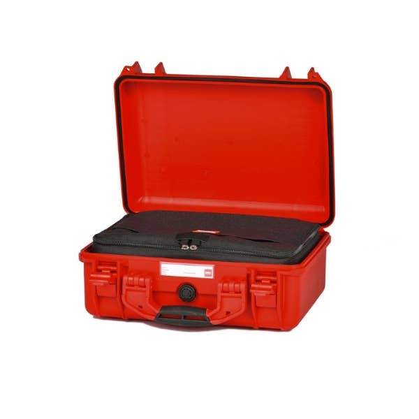 HPRC 2400 - Hard Case with Cordura Bag & Dividers (Red)