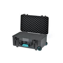 HPRC 2550W - Wheeled Hard Case with Cubed Foam & Turquoise