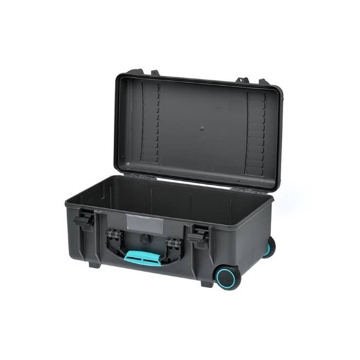 HPRC 2550W - Wheeled Hard Case Empty with Turquoise Handle