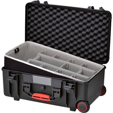 HPRC 2550W - Wheeled Hard Case Second Skin Black New Type