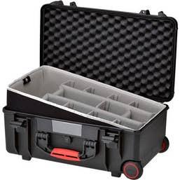HPRC 2550W - Wheeled Hard Case Second Skin Black New Type