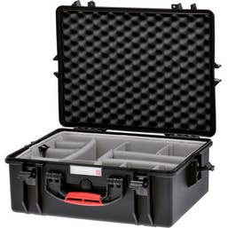 HPRC 2600 Water-Resistant Hard Case with Second Skin (Black)