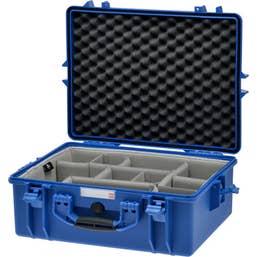 HPRC 2600 - Hard Case with Second Skin Divider Kit (Blue)