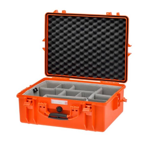 HPRC 2600 - Hard Case with Second Skin Divider Kit (Orange)