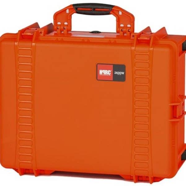 HPRC 2600W - Wheeled Hard Case Empty (Orange)