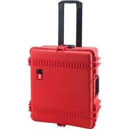 HPRC 2700W - Wheeled Hard Case with Foam (Red)