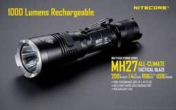 Nitecore 1000 Lumen - MH27 Multitask Hybrid Torch