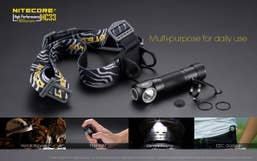 Nitecore HC33-SET 1800 Lumen Head Lamp