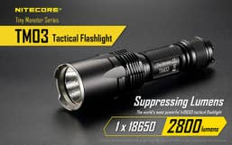 Nitecore 2800 Lumen TM03 Tiny Monster Torch