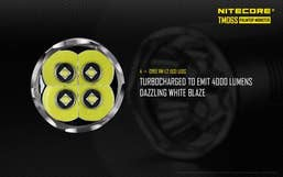 Nitecore 4000 Lumen TM06S-SET Tiny Monster