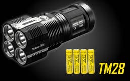 Nitecore 6000 Lumen TM28-Set Tiny Monster Torch