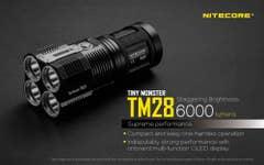 Nitecore 6000 Lumen TM28-Set Tiny Monster Torch