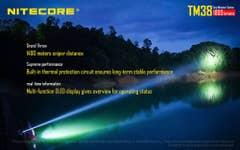 Nitecore 1800 Lumen TM38 Tiny Monster Torch