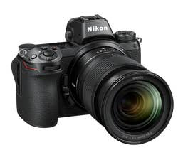 Nikon Z7 body with NIKKOR Z 24-70mm f/4 S lens and FTZ Adaptor