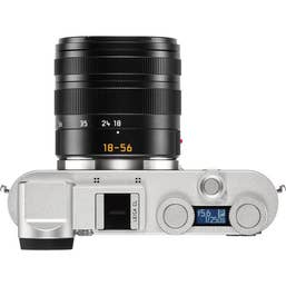 LEICA CL with Vario-Elmar-T 18-56mm f/3.5-5.6 ASPH - Silver