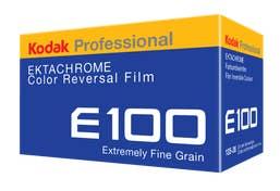 Kodak Ektachrome E100G WW - Single Roll  -  35mm color slide film 36 exposure