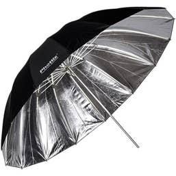 Phottix 182 cm Para-Pro Reflective Umbrella (Silver/Black)