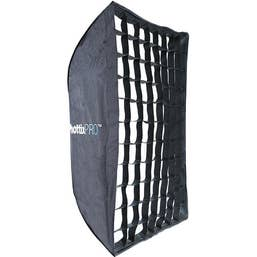 "Phottix Easy-Up HD Umbrella Softbox with Grid and Varos Pro S Combo Kit (24x35"")"