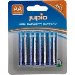 Jupio Alkaline AA Batteries LR6, 4 pack