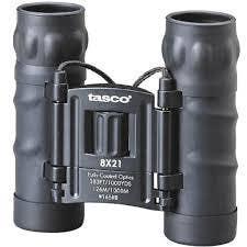 Tasco 8x21 Roof Prism Compact Binoculars